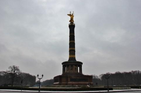 The Victory Column, Siegessaule, at Tiergarten Park in Berlin, Germany