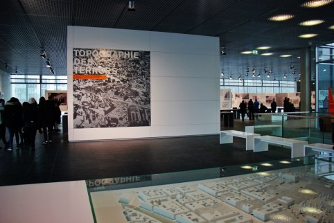 Topography of Terror Museum in in Berlin, Germany
