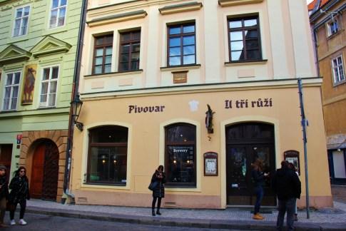 Brewery U Tri Ruzi in Prague, Czech Republic
