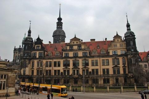 Dresden Castle Residenzschloss in Dresden, Germany