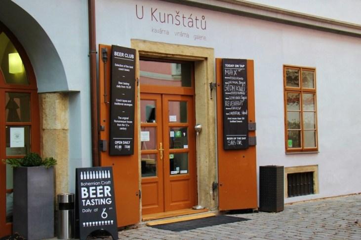 U Kunstatu Craft Beer Club in Prague, Czech Republic