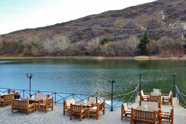 Waterfront Cafe at Turtle Lake, Tbilisi, Georgia