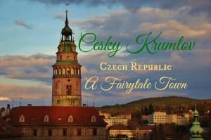Cesky Krumlov, Czech Republic A Fairytale Town by JetSettingFools.com