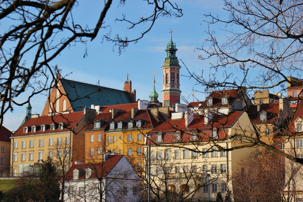Old Town from Vistula River, Warsaw, Poland, JetSettingFools.com