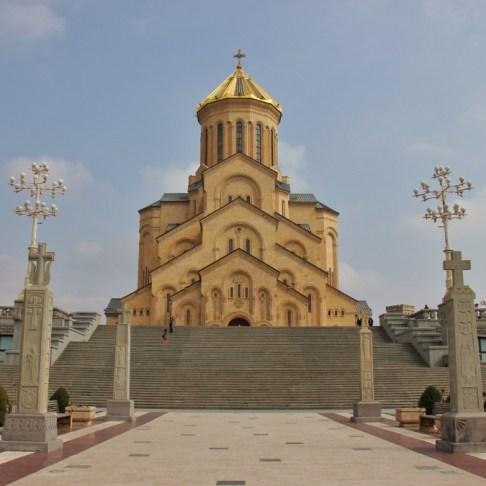 Holy Trinity Sameba Cathedral, Tbilisi, Georgia