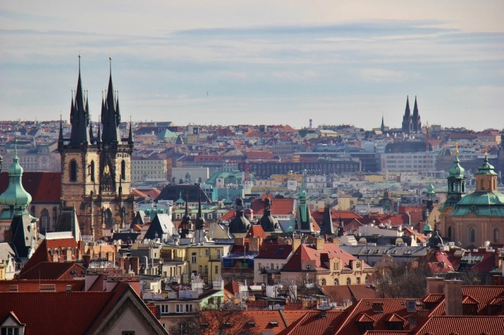Old Town City view from Metronome at Letna Park, Prague, Czech Republic, JetSettingFools.com