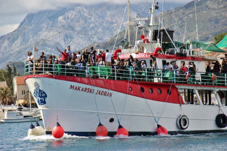 Makarski Jadran party boat from Makarska, Croatia