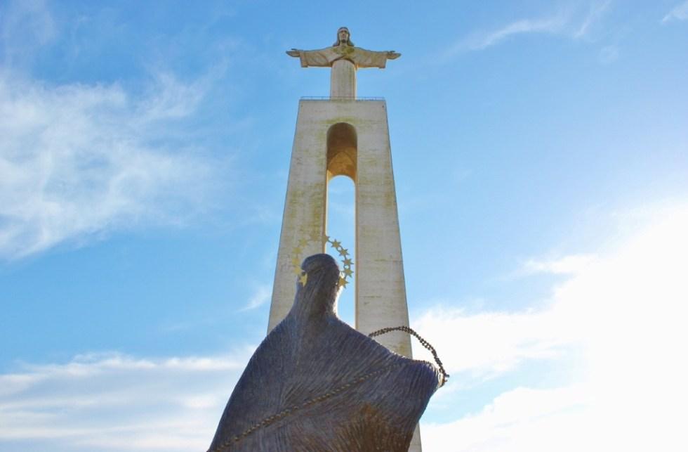 Cristo Rei statue in Lisbon, Portugal