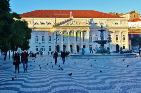 National Theater in Lisbon, Portugal