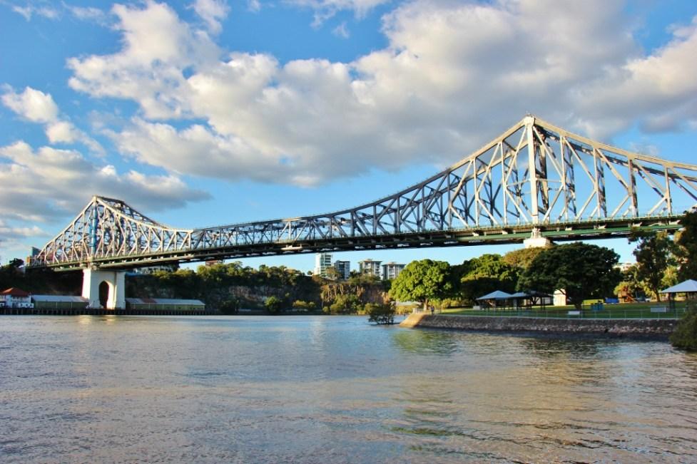 Story Bridge over Brisbane River in Brisbane, Australia