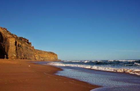 Cliffs and Beach at Gibson's Steps, Great Ocean Road, Australia, JetSettingFools.com