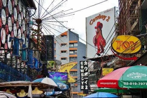 Cowboy Soi in Bangkok, Thailand