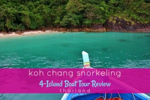 Koh Chang Snorkeliing 4 Island Boat Tour Review Thailand by JetSettingFools.com