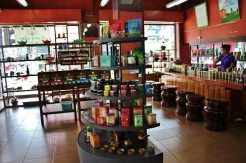 Suwirun Tea Shop in central Chiang Rai, Thailand
