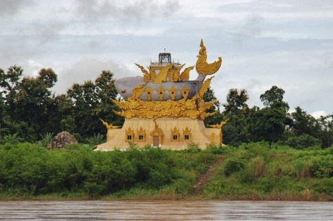 Mekong River Fish Temple, Thailand