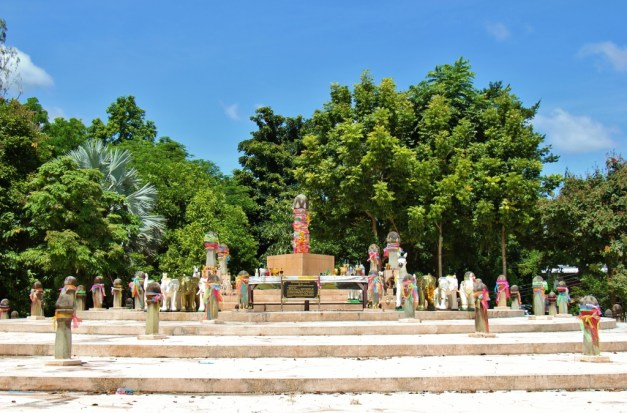 The Navel City Pillar of Chiang Rai, Thailand