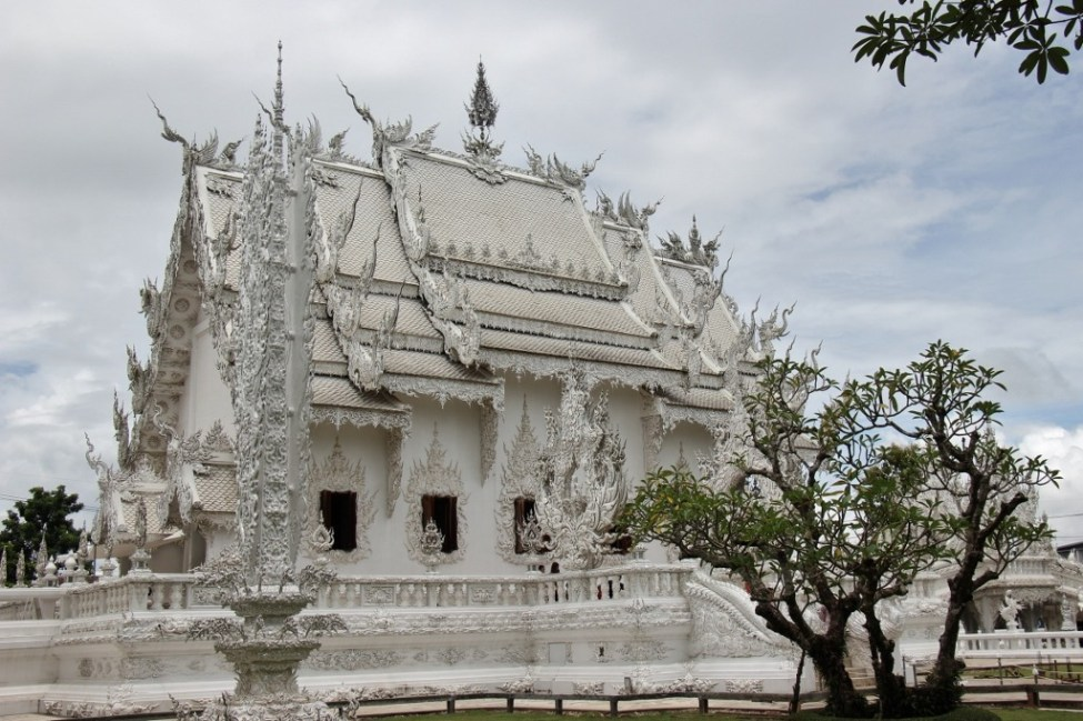 The White Temple, Wat Rong Khun, in Chiang Rai, Thailand