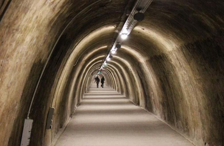 Gric (Gradec) Tunnel in Zagreb, Croatia