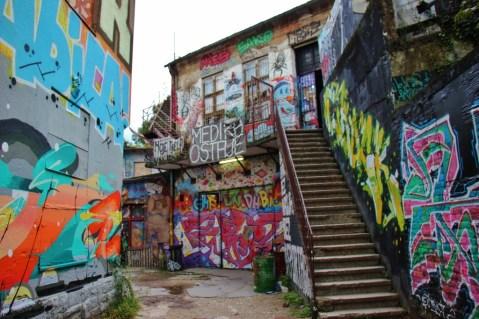 Street Art at Medika in Zagreb, Croatia