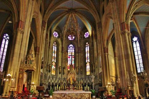 Zagreb Cathedral interior, Zagreb, Croatia