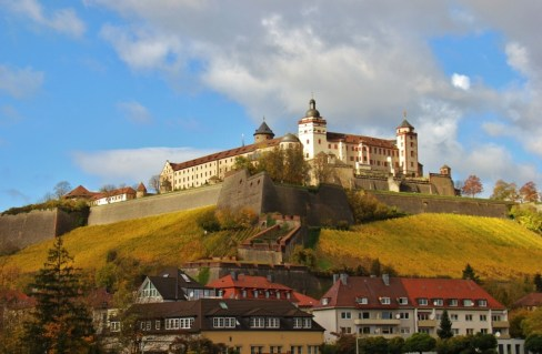 Marienberg Fortress in Wurzburg, Germany