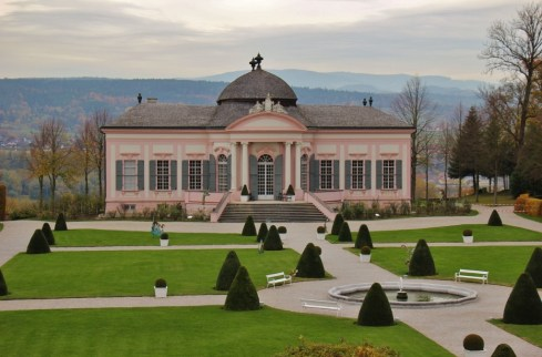 Baroque Garden Pavilion at Melk Abbey in Austria