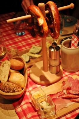 Festive Taste of Austria dinner on Viking Amsterdam to Budapest cruise