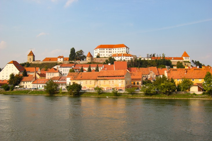 Ptuj Castle in Ptuj, Slovenia