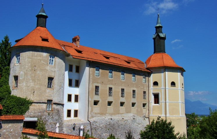 The Skofja Loka Castle in Skofja Loka, Slovenia