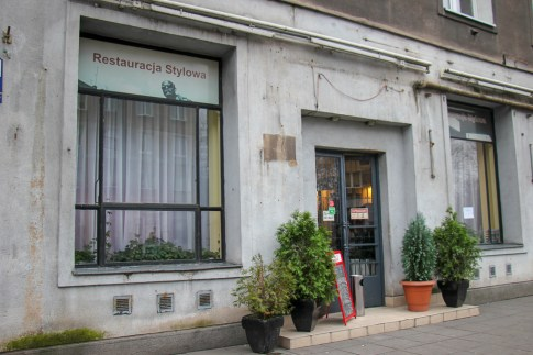 Historic Stylowa Restaurant in Nowa Huta district in Krakow, Poland