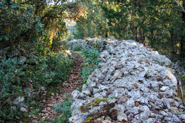 Hiking Trail from Glavica Hill to Put Rudina in Stari Grad on Hvar Island, Croatia