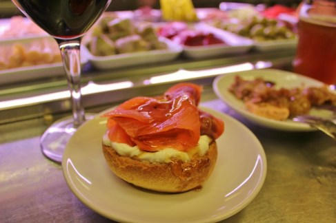 Signature tapas at Quimet i Quimet in Madrid, Spain