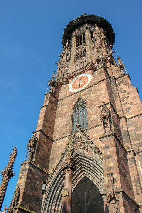 Freiburg Cathedral Bell Tower in Freiburg, Germany