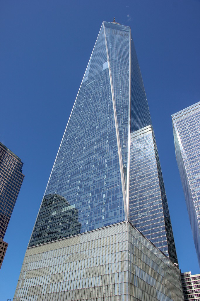 One World Trade Center in Lower Manhattan, New York City, NY