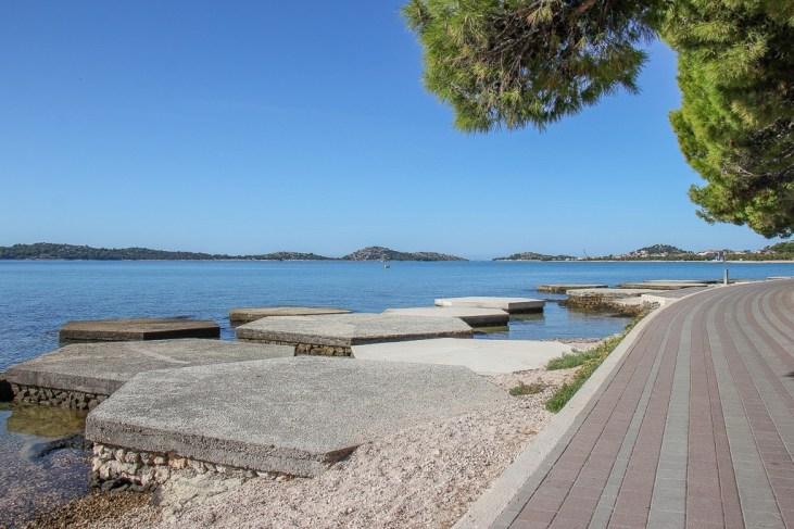 Beach, Vodice, Croatia