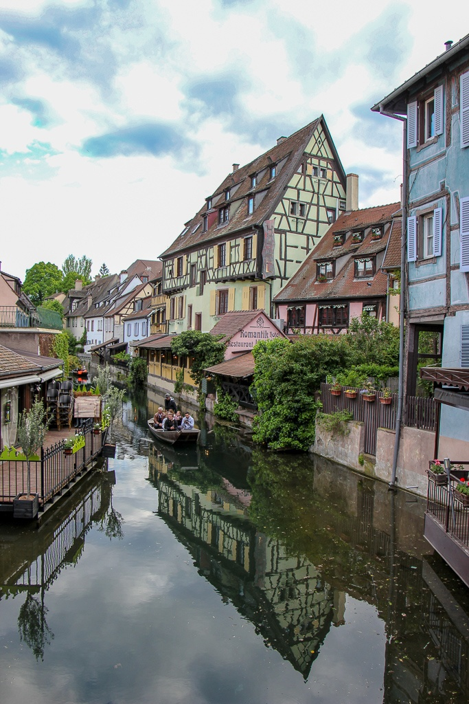 Boat Ride in Little Venice in Colmar, France