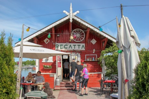 Famous Cafe Regatta in Helsinki, Finland