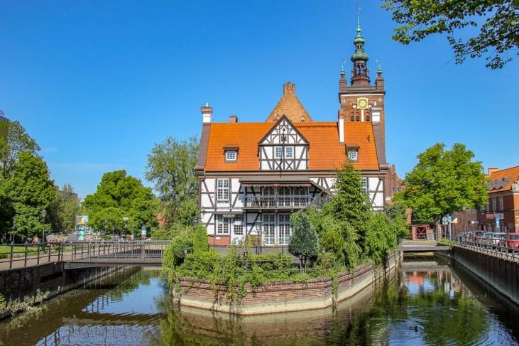 Canal Raduni in Gdansk, Poland
