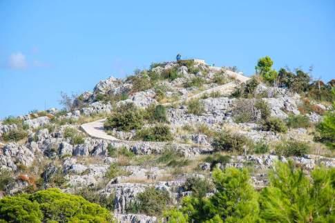Seaside hike, Hiking hill, Sibenik, Croatia
