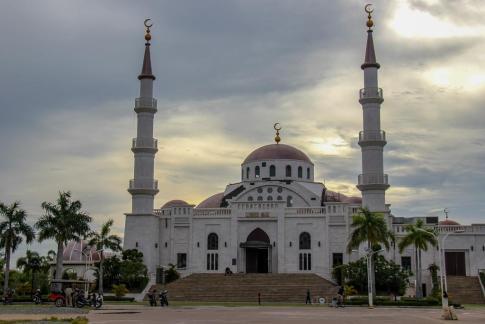 The Al-Serkal Mosque in Phnom Penh, Cambodia