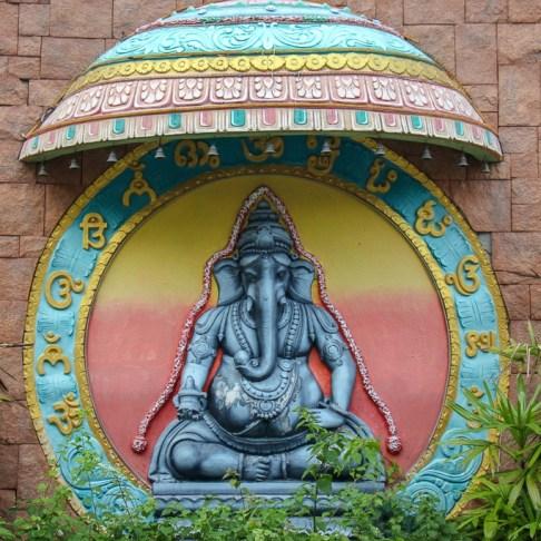Temple shrine in Brickfields Little India Kuala Lumpur, Malaysia
