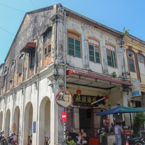 Classic architecture in Geroge Town, Penang, Malaysia
