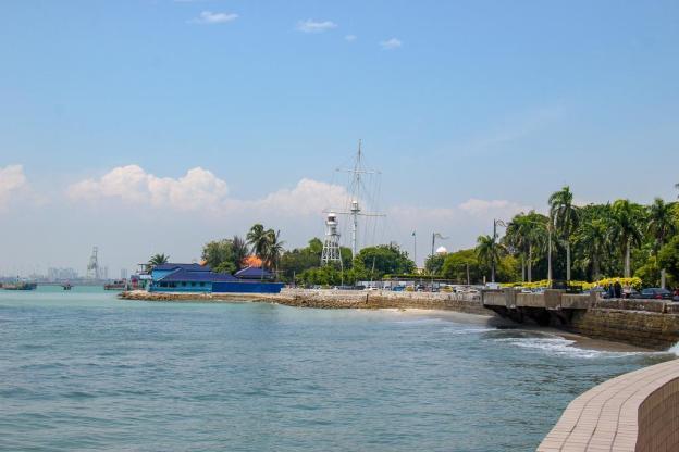 Padang Esplanade in Geroge Town, Penang, Malaysia