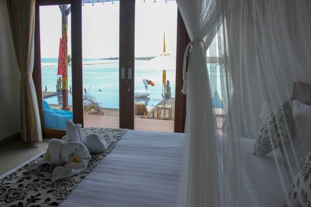 Room-with-a-View at Nusa Veranda Sunset Villas on Nusa Ceningan, Bali, Indonesia