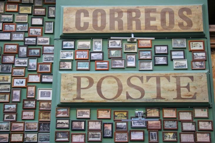 Post Office Italian restaurant in Old Town, Lviv, Ukraine