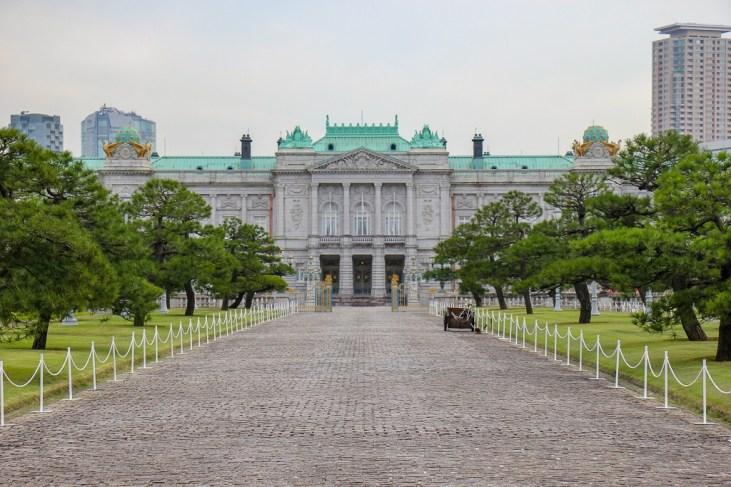 Akasaka Palace State Guest House in Tokyo, Japan