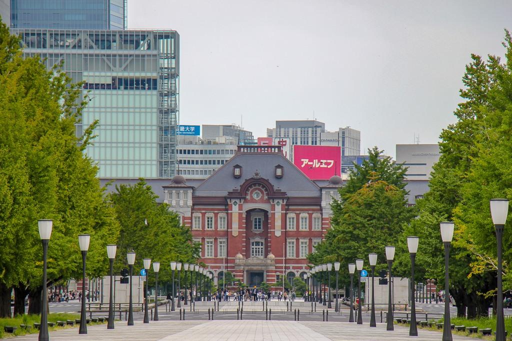 Historic Tokyo Station in Tokyo, Japan