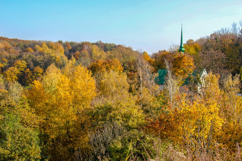 Views from Lion Hill hike in Lviv, Ukraine