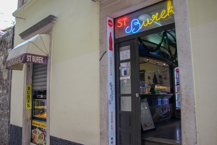 ST Burek restaurant in Split, Croatia