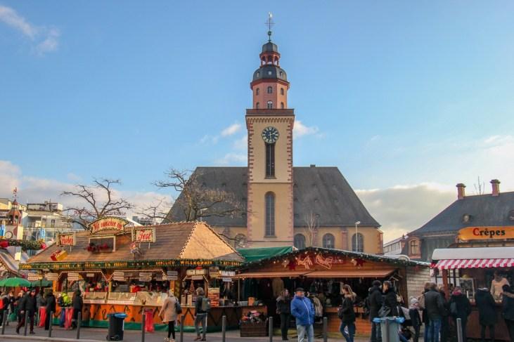 St. Katharinenkirche Church in Frankfurt, Germany